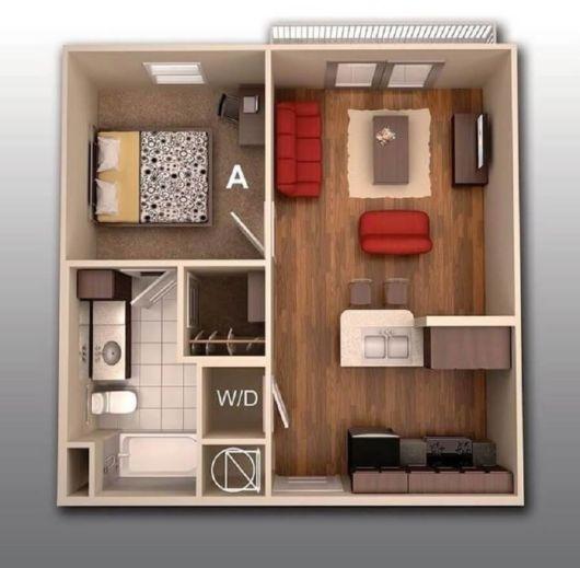 Projetos de casas térreas pequenas
