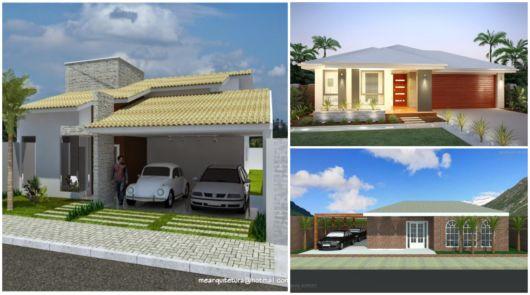 Projetos de casas térreas