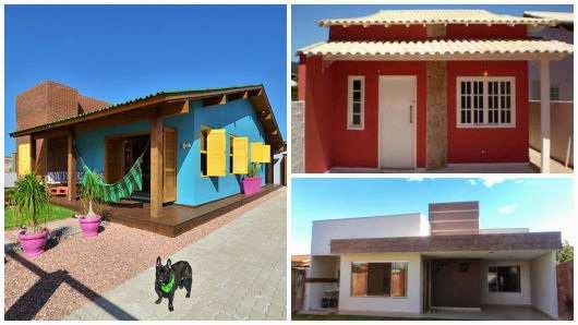 Projetos de casas térreas simples