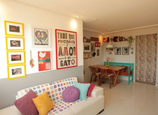 decoração sala simples