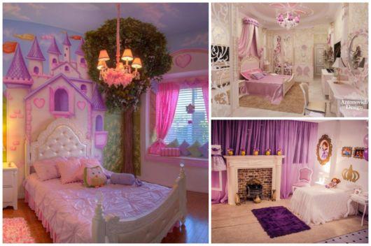 quartos de princesa com estilo moderno
