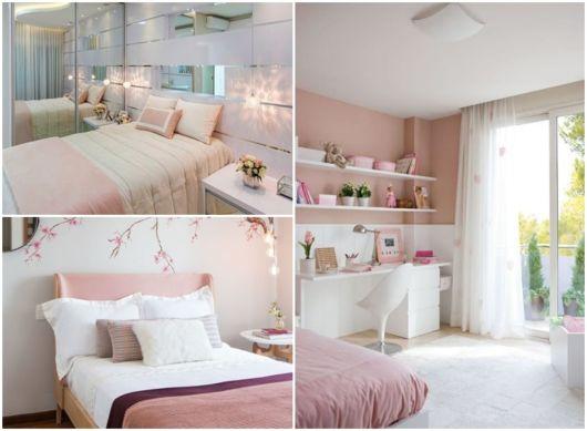 ideias para quarto rosa e branco
