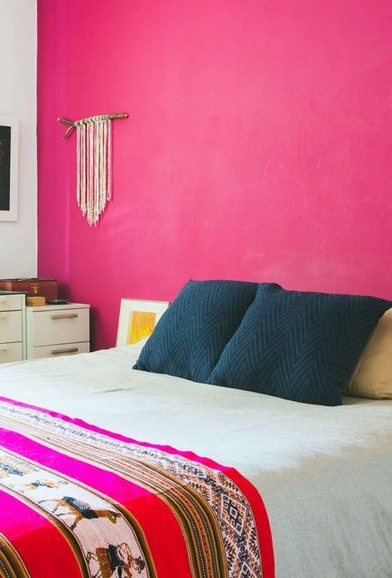quarto de casal pink