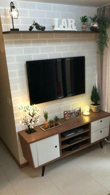 rack para sala de apartamento