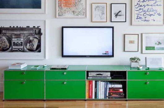 móvel vintage verde