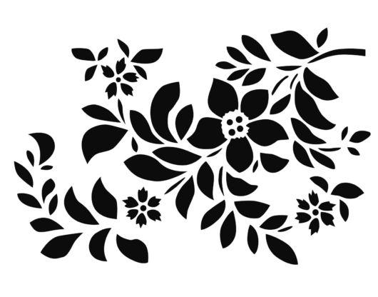 Stencil Para Parede 70 Ideias Para Decorar Moldes Para Imprimir