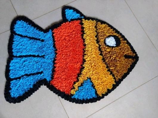 tapete peixe