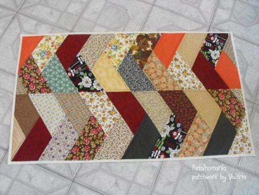 tapete retangular colorido