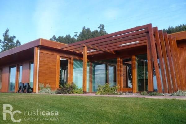 casa planejada de madeira