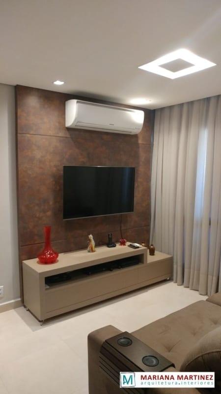 painel para televisão na sala