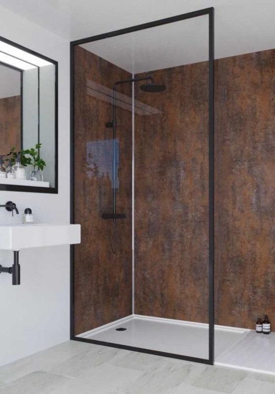 banheiro estilo industrial