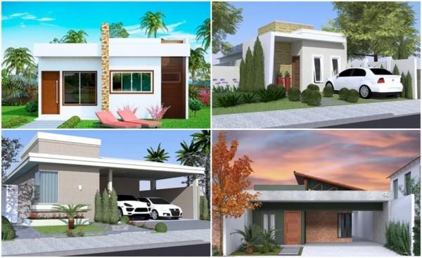 projetos de casas térreas planejadas