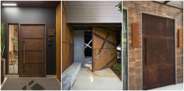 modelos de portas de metal