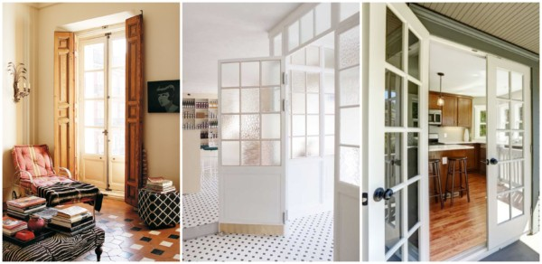 Diferentes modelos de portas francesas 4