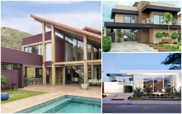 Modelos de casas contemporâneas