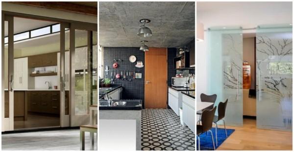 Modelos de portas para cozinha 3