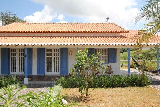casa pequena com terraço