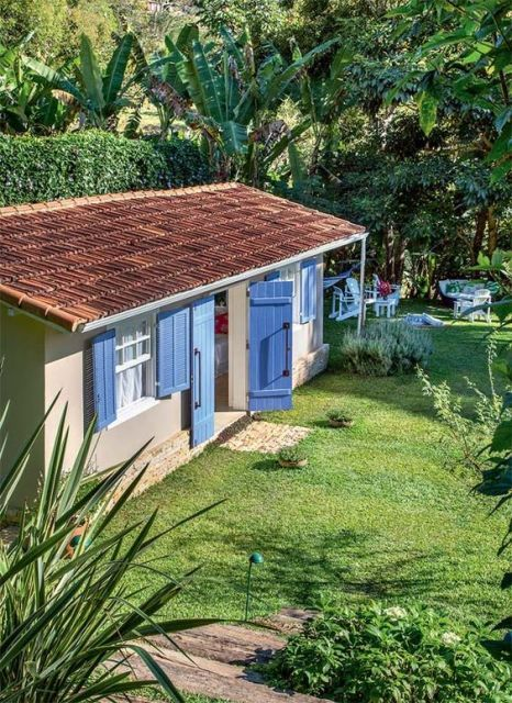 casa simples e pequena