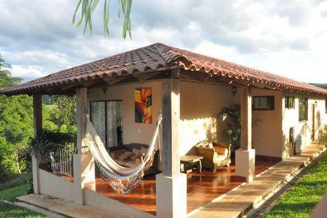 casa pequena com varanda