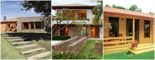 fotos de casas rústicas