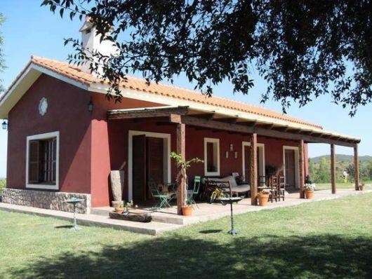 casa simples e rústica