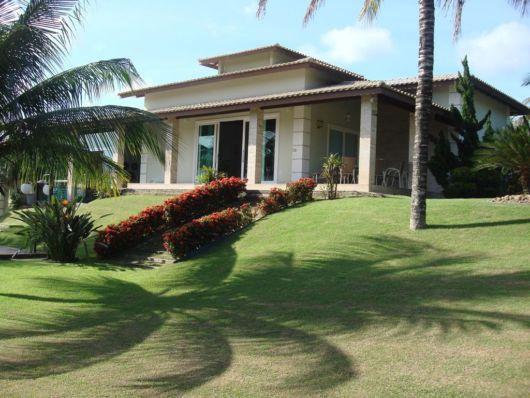 casa moderna com varanda
