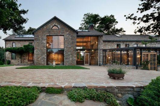 casa de luxo moderna