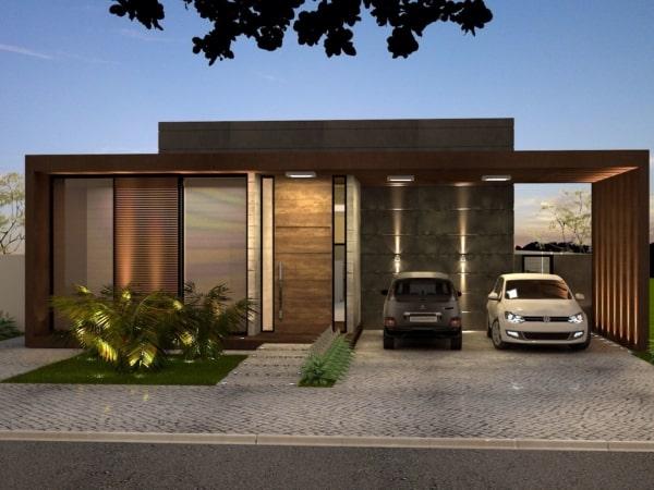 casa contemporânea moderna