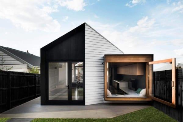 Casa contemporânea pequena super diferente