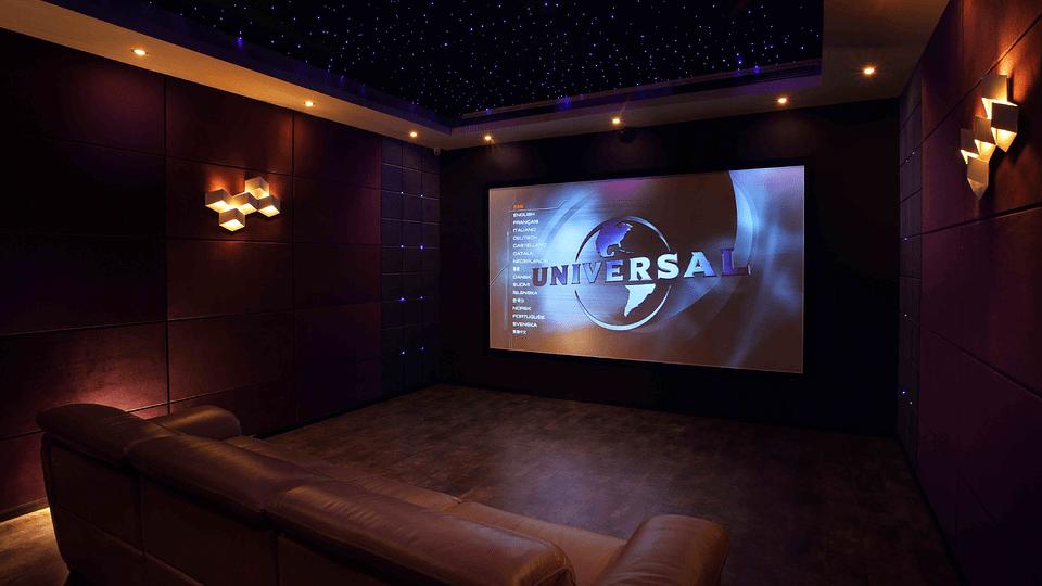Projeto de cinema em casa