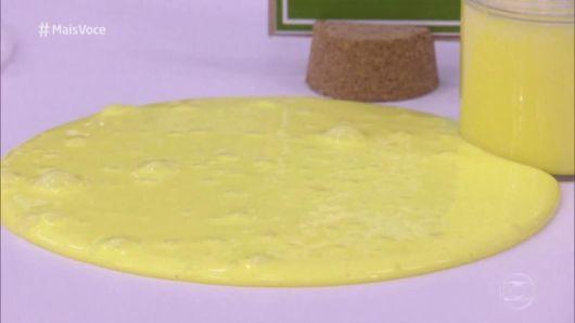 Como fazer slime manteiga