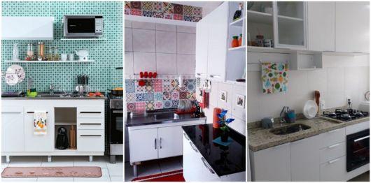 projetos para cozinha branca