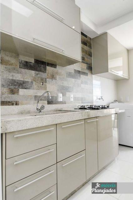 cozinha moderna cinza