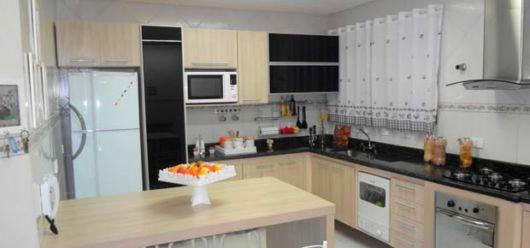 cozinha simples de canto