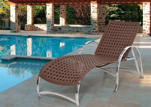 cadeira moderna de alumínio