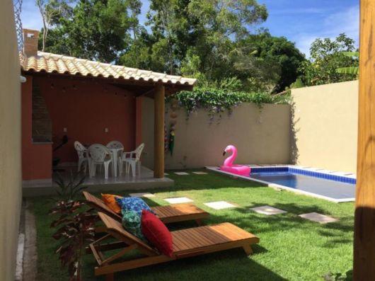 quintal com piscina pequena