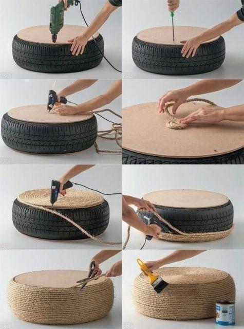 Puff de pneu
