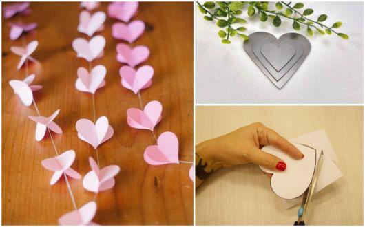 Molde de coração