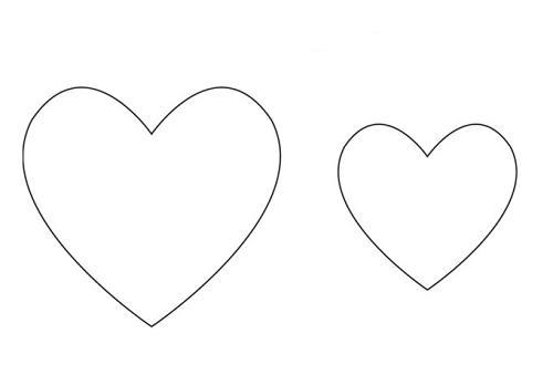 Molde de coração médio