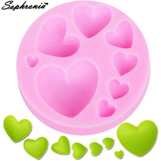 Molde de coração pequeno