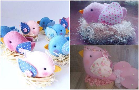 modelos de passarinho no ninho