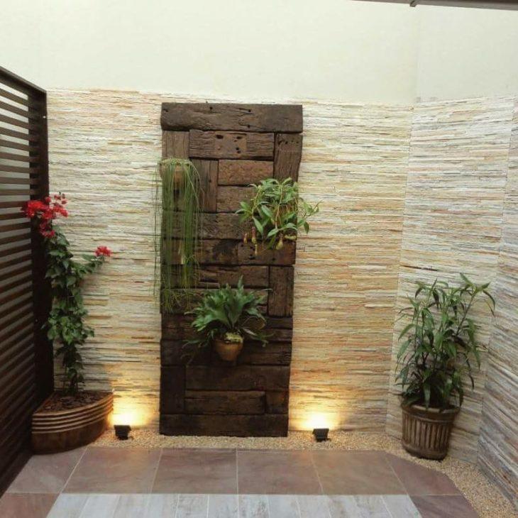 Pedras para parede externa