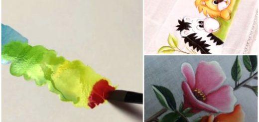 Tudo para pintura em tecido para iniciantes