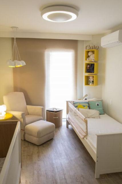 piso para quarto de bebê