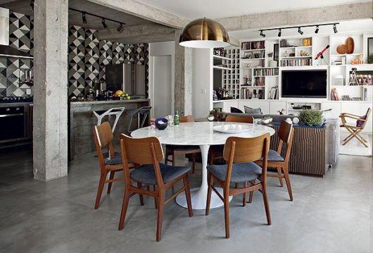 apartamento com ambientes integrados