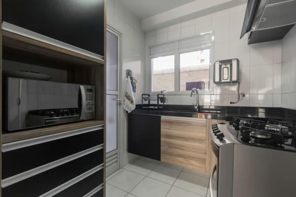 porta para cozinha de alumínio