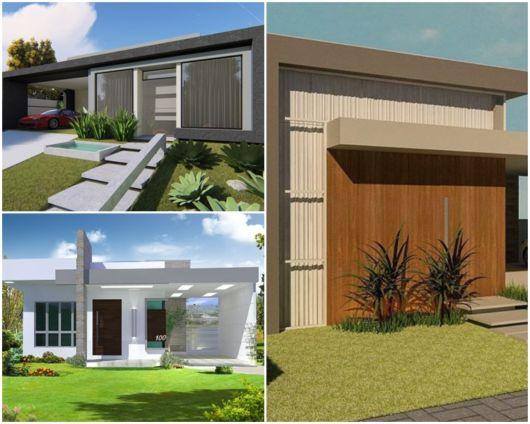 projetos casas térreas