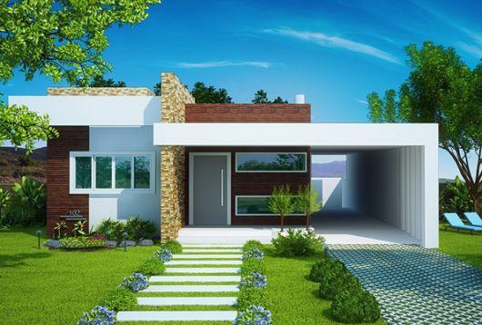 casa simples e moderna