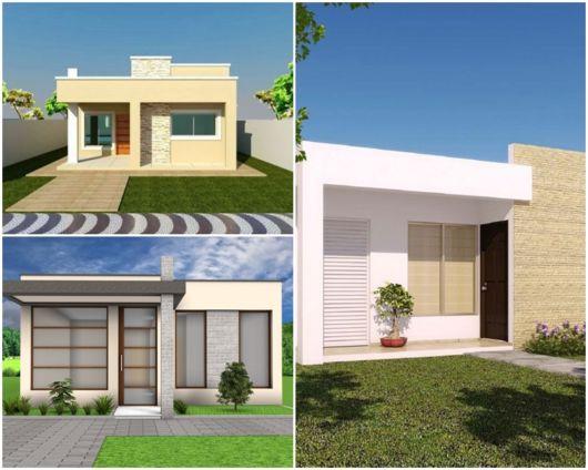 projetos casas baratas