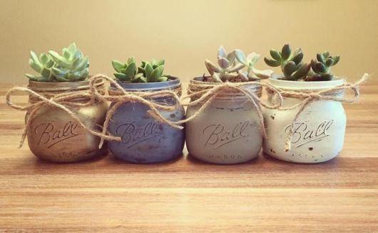 vasos para suculentas